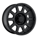 Pro Comp PXA7032-6882 Series 7032, 16x8 with 8 on 6.5 Bolt Pattern - Flat Black