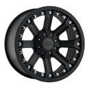 Pro Comp PXA7033-7939 Series 7033, 17x9 with 6 on 5.5 Bolt Pattern - Flat Black