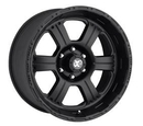 Pro Comp PXA7089-6868 Series 7089, 16x8 with 6 on 4.5 Bolt Pattern - Flat Black