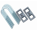 Rubicon Express R-ERE1215 1.5 Inch Rear Lift Block and U-Bolt Kit