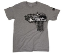 T-Shirt in Gray, Small, SSWEVOS