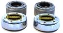 Warn Industries WAR62672 35 Spline Premium Manual Locking Hubs