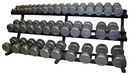 Troy Barbell VTX TDR-3 Horizontal Dumbbell Rack, Sold Individually