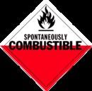De Leone HMP574 vinyl, Hazardous Materials Placards
