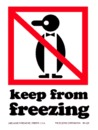 De Leone Keep From Freezing, Label
