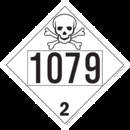 De Leone SDP406 UN 1079Sulfur Dioxide, Liquified - Toxic, 10¾