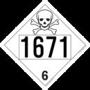 De Leone SDP428 UN 1671 Phenol Solid - Toxic, 10¾