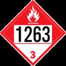 De Leone SDP519 UN 1263 Paint - Combustible Liquid, 10¾