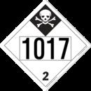 De Leone SDP565 UN 1017 - Chlorine Inhalation Hazard, 10¾