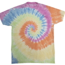 Colortone 1090 Adult Burnout Festival Tie dye Tee