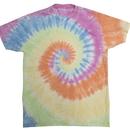 Colortone 1090 Adult Burnout Festival Tie dye Tee