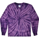 Colortone Tie-Dye 2000 heavyweight 100% cotton Long Sleeve T-Shirts