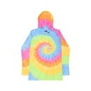 Colortone Tie Dye 2777 Long Sleeve Hoodie