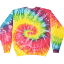 Colortone Tie Dye 8100 Crew Neck Fleece