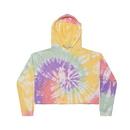 Colortone Tie Dye 8333 Fleece Crop Tops