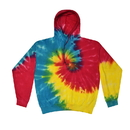 Colortone 8777 Tie Dye Hooded Pullover