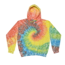 Colortone Tie Dye 8888 Fleece Zip Up Hoodies