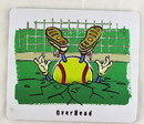 Be The Ball Mouse Pad-Overhead