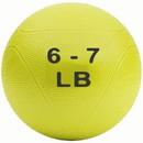 Medicine Ball 6-7 lb Yellow (non bounce)
