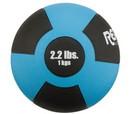 Reactor Rubber Medicine Ball 1 kg Lite Blue