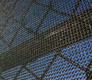 Commercial Knit Windscreen Black 9′ x 120′ Fabricated Top and Bottom