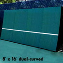 REAListic Backboards 8′ x 16′ Dual Curved. Includes Sound Reduction Kit