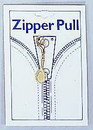 Tennis Racquet Zipper Pull, Small