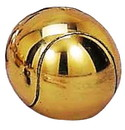Brass Plate Tennis Ball Pewterware – Without Base