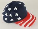 6 Panel US Flag Cap