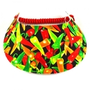 Foam Visor-Print-Peppers-T