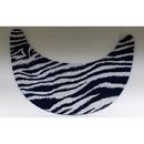 Zebra Print Visor Coil