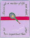 Tennis Note Pad--
