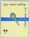 Tennis Note Pad-