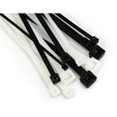 """3M  CT8BK50-C 8"""" Black 50 LB Cable Tie - 100 pcs/bag (06202)"""