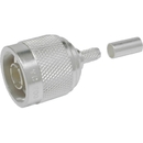 Times Microwave Systems TC-200-NMH-X N Male Crimp Connector for LMR-200