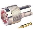 RF Industries RFN-1000-1S N Male-RG58/RG141