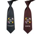 TOPTIE Custom Tie Heat Transfer Vinyl Necktie, Print Photo, Text, Monogram on Tie
