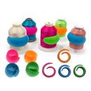 Muka 100PCS Thread Spool Saver Multi-Color Thread Spool Huggers Keep Thread Tails Under Control