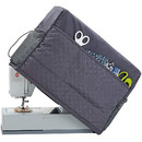 Muka Sewing Machine Dust Cover Compatible with Most Standard Singer and Brother Sewing Machines