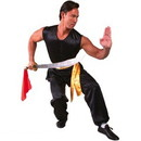 Tiger Claw Southern Style Kung Fu Uniform, 100% Silk