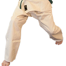 Tiger Claw Judo Pants, Single Weave with Drawstring Waist