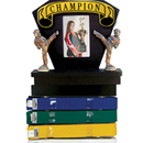 Tiger Claw Deluxe Picture Frame & Ranking Belt Display