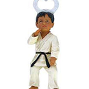 Tiger Claw Karate Figure Bottle-opener