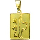 Tiger Claw TaeKwonDo Gold Necklace