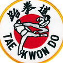 Tiger Claw Taekwondo Flying Kick Patch (4
