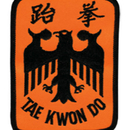 Tiger Claw Taekwondo Eagle Patch (4