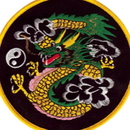 Tiger Claw Color Dragon Patch (4 1/2