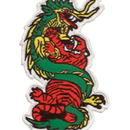 Tiger Claw Tiger and Dragon Patch
