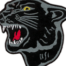 Tiger Claw Black Panther Patch