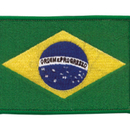 Tiger Claw Brazilian Flag Patch